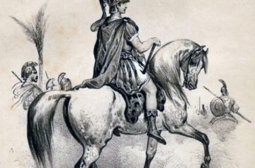Leadership with Horses | Alexander and Bucephalus, drawn by Victor Adam