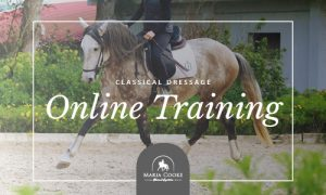 Online Classical Dressage Training by Maria Cooke Equestrian